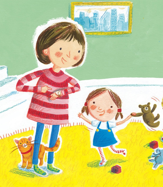Snippet from board book spread