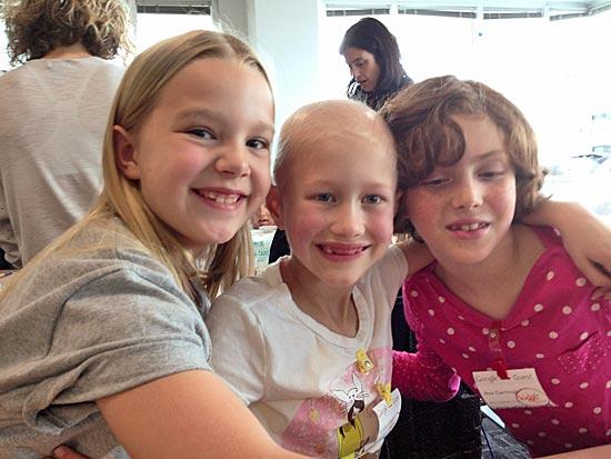 Chloe, Annika and Ada