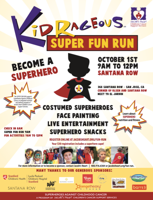 In Partnership withJacobs Heart - Oct 1st 9am to 12pm.