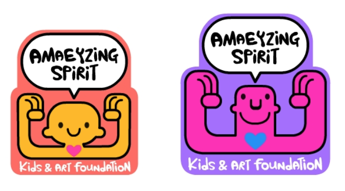 These are our final pins. amaeyzing spirit child and amaeyzing spirit volunteers!