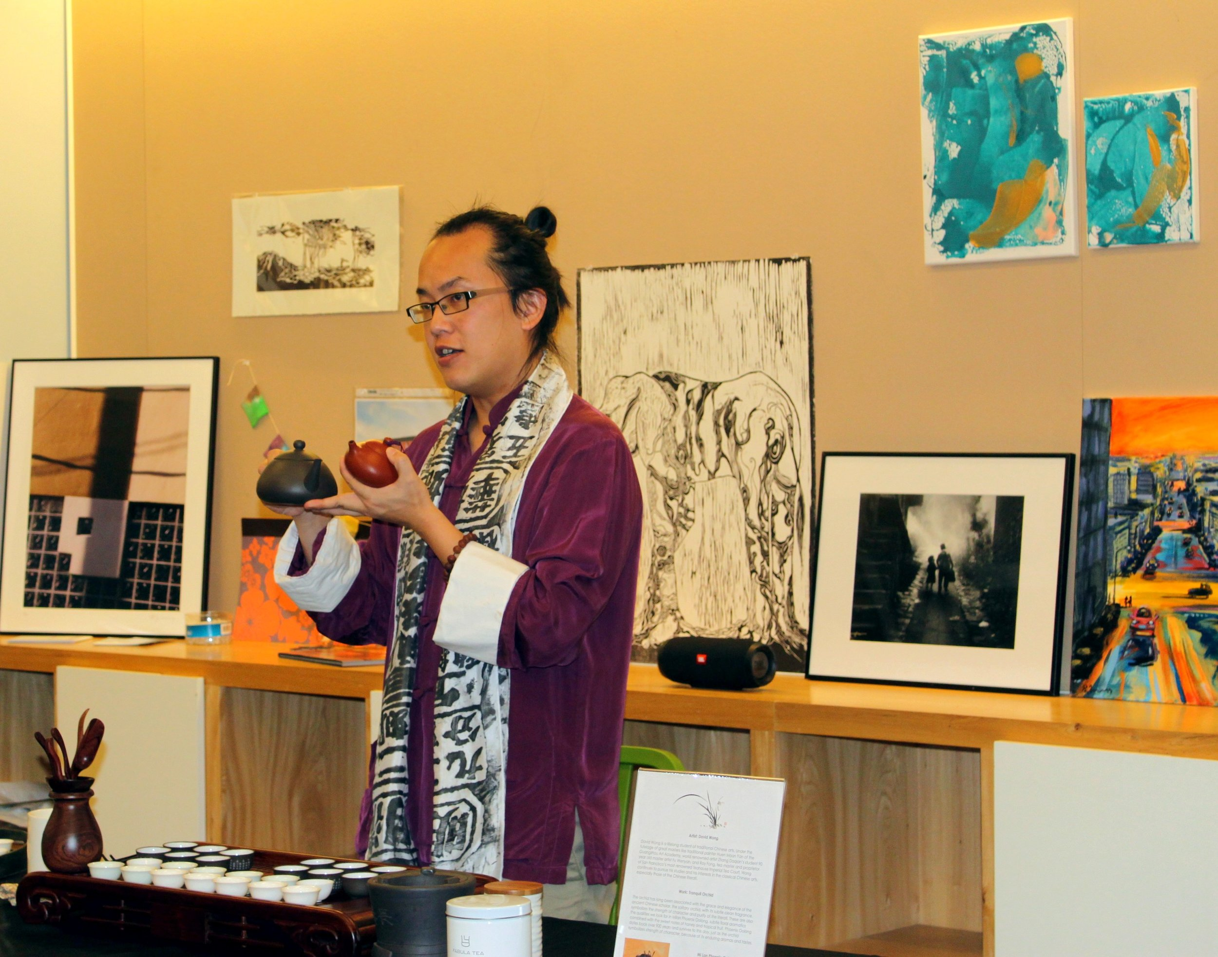 Kids & Art Volunteer Appreciation Tea Ceremony