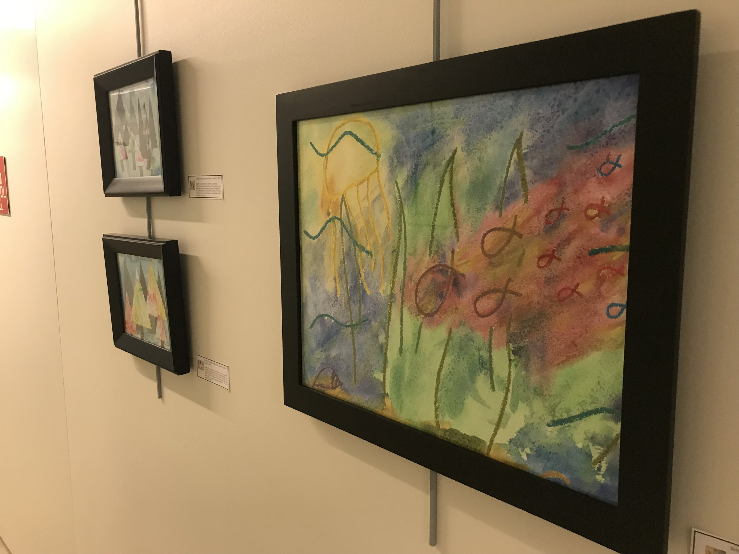 Kids Art Show They Go Into Paintings