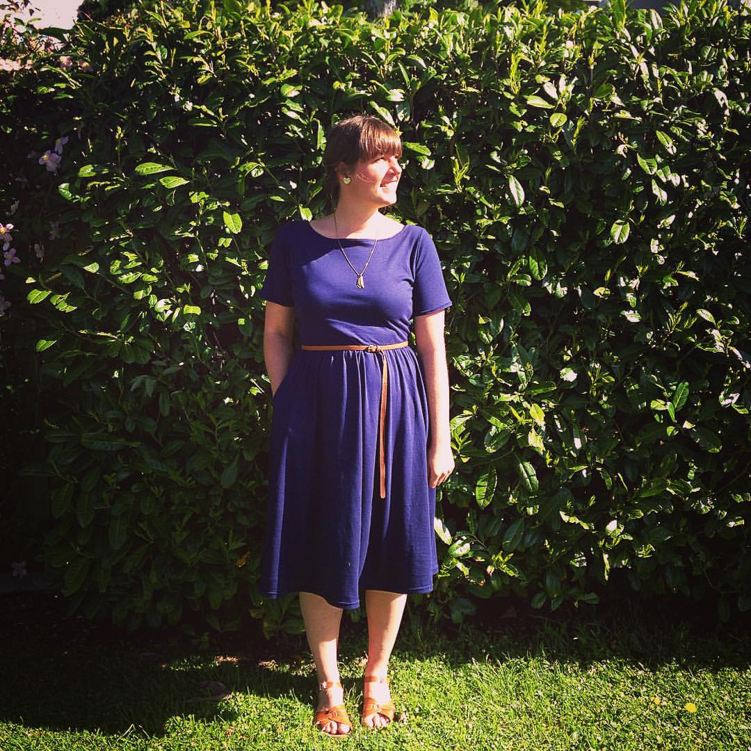 Moneta dress, version 2.