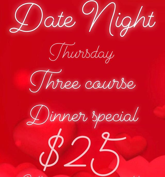 Celebrate LOVE ❤️ Call to reserve a table 204.414.6305