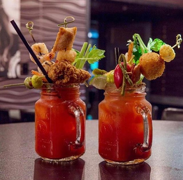 Celebrating international Caesar day with $8 double Caesars! Double the booze, double the fun😍