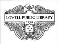 Original Lovell Public Library logo