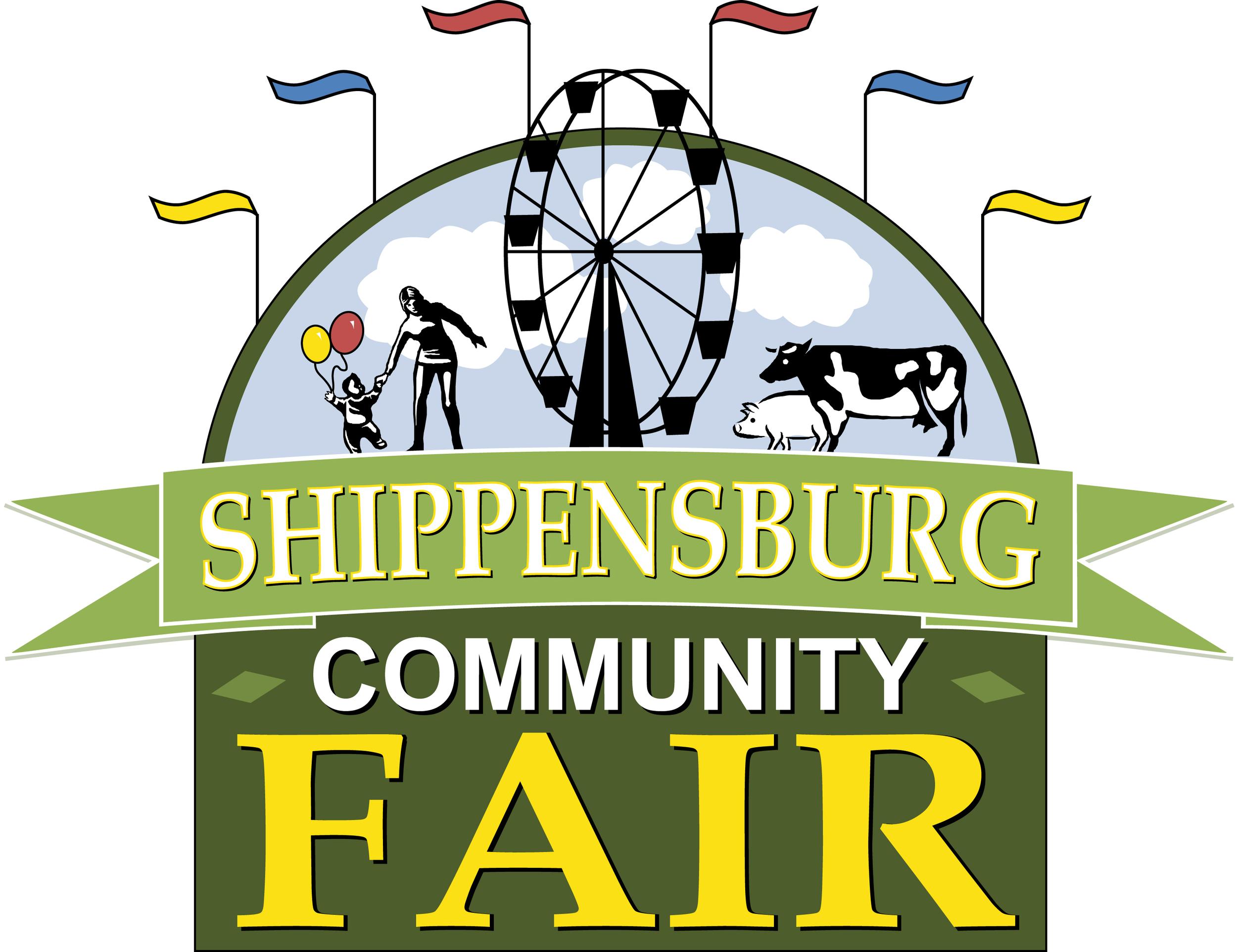Shippensburg Community Fair Official Logo   High Resolution (JPEG) - 1.58 MB
