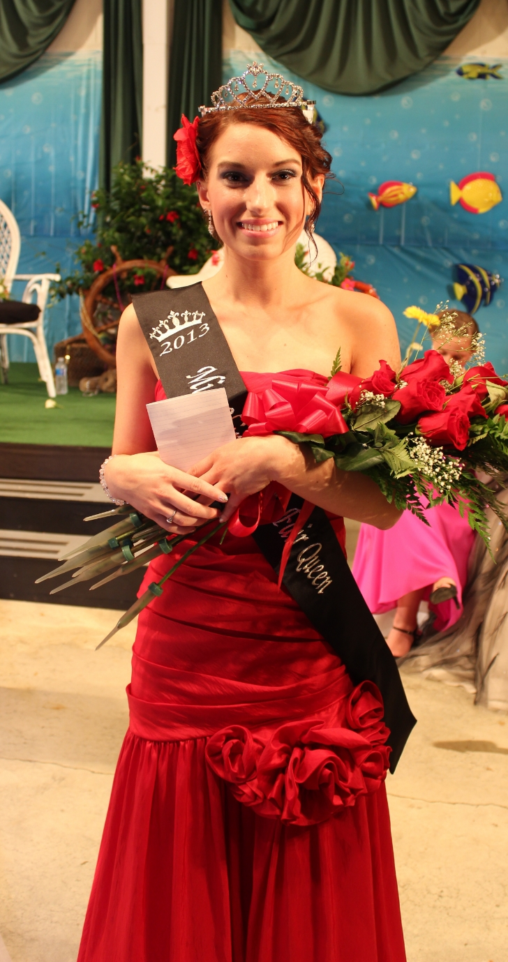 Rebecca Shotto , 2014 Fair Queen