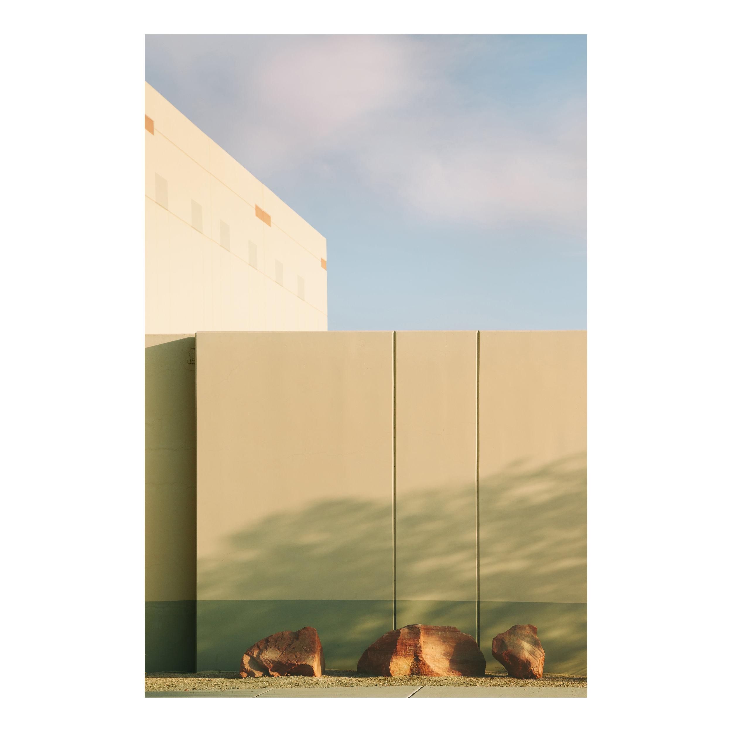 "Urban Blocks Indio; California  Lightjet Kodak Endura C-Print, 30.0"" x 20.0""  Signed, 2017  Edition of Five + 1 Artist Proof"