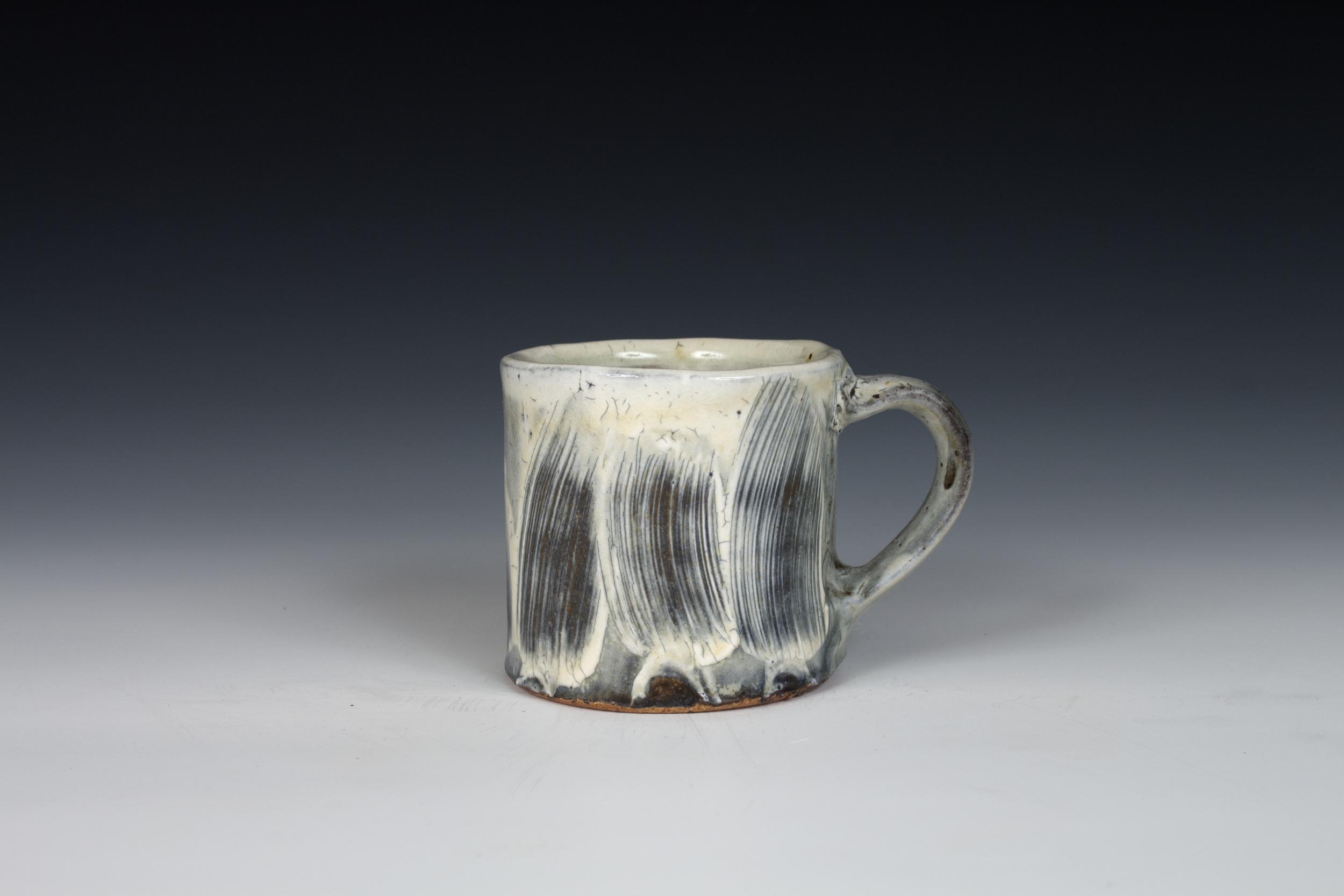 Brushed Slip Mug