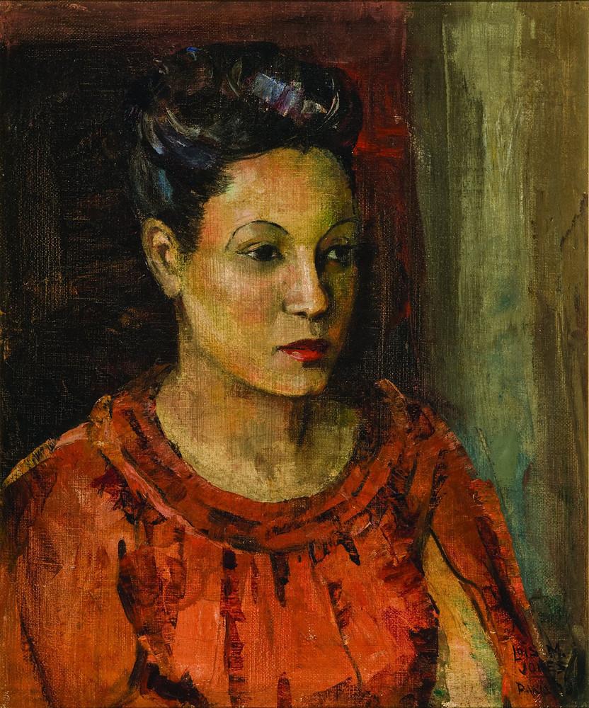 Lois Mailou Jones - Babella, Paris 1938