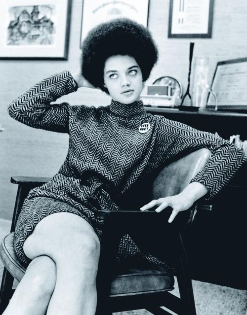Kathleen Cleaver, Photographed by Howard Bingham