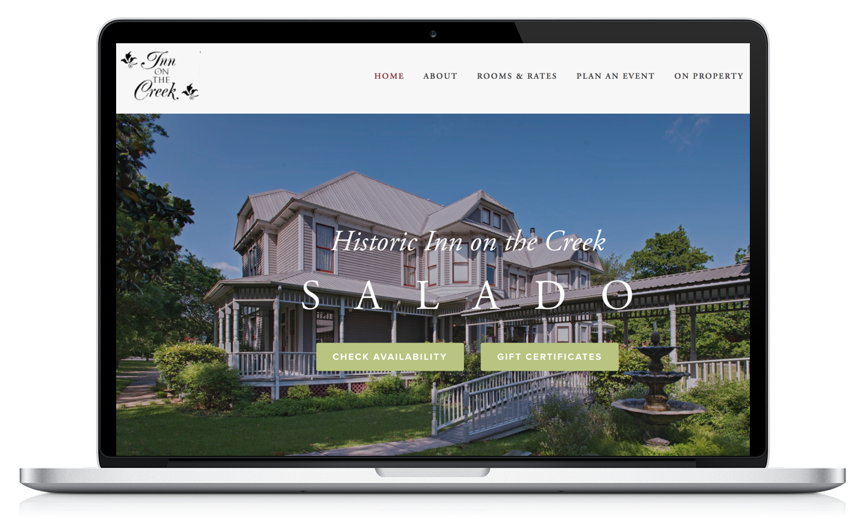 Squarespace for Bed & Breakfast Inns