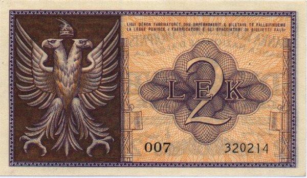 Lek Currency