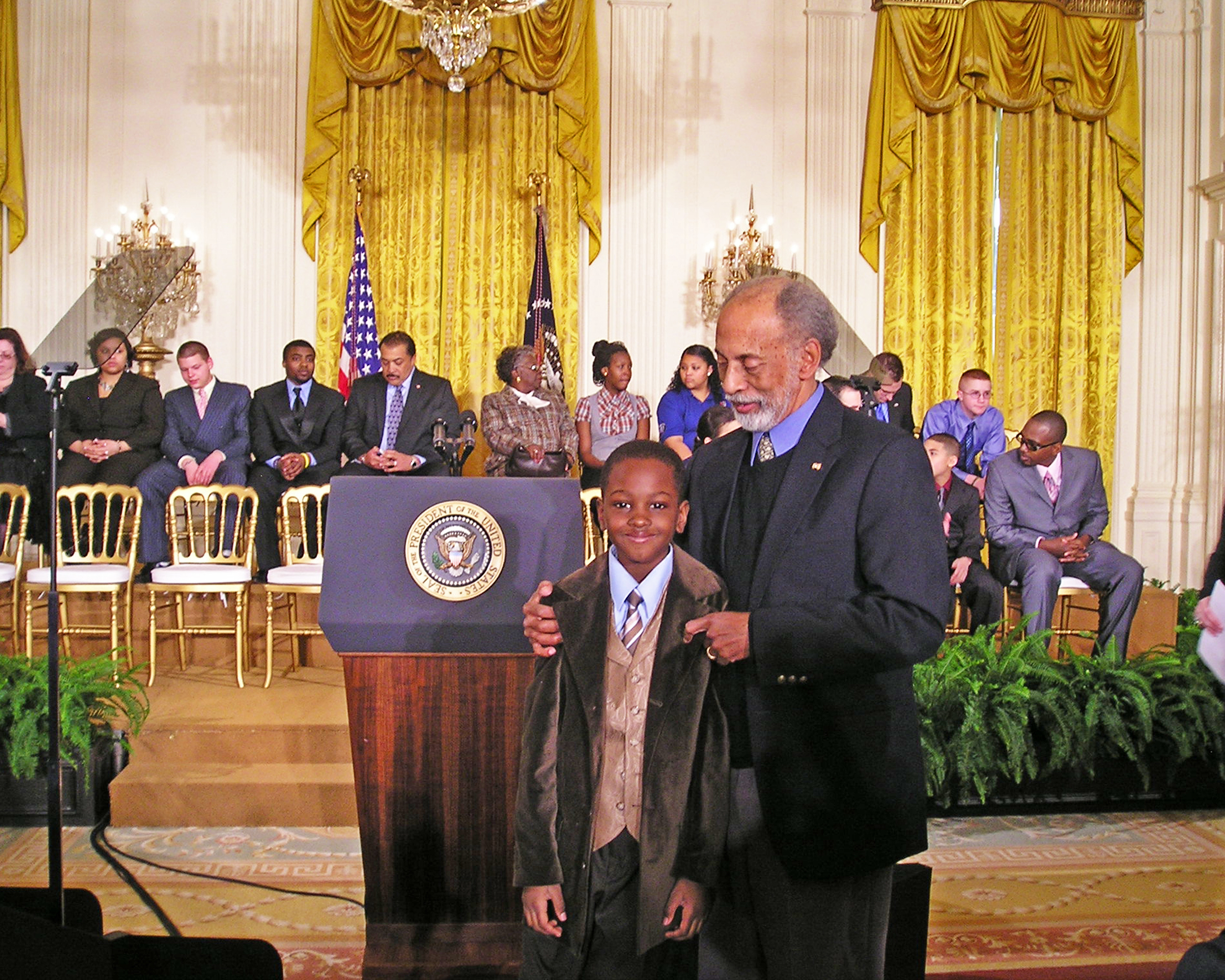 Willie and Lehzan to the White House