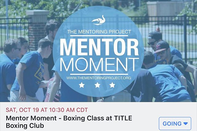 🥊 OKC mentors! Join us at @titleboxingclubedmond as we participate in an hour long fitness boxing class 🥊  Each person in class will have their own heavy bag to workout on, plus their own space to move around the bag.  Trust us, you won't even realize anyone else is in the class because you'll be so focused on the workout! And, rest easy, sparring or fighting is not allowed at TITLE Boxing Club.  Disclaimer - in order to participate you must have a @TMProject and Title Boxing Club waivers on file and be a part of The Mentoring Project's programs or network of Mentor Link organizations. Please contact advocate@thementoringproject.org if you have questions about getting involved in TMProject's programming.