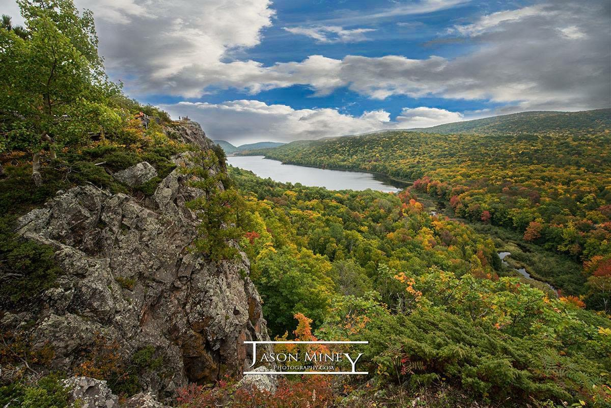 © Jason Miney |  Facebook  |  Website   Jason Miney created this beauty of an image at Lake Of The Clouds in the Porcupine Mountains and that sky is amazing! Jason answered some questions for a ' Photographer Profile ' and you can read that   here .