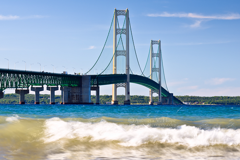 MI15-0700-9201 Mackinac Bridge by Aubrieta V Hope Michigan Scenery.jpg