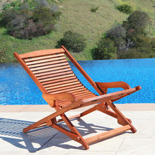 Teak Lounge Chair $93.99