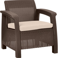 Wicker Armchair $95.99