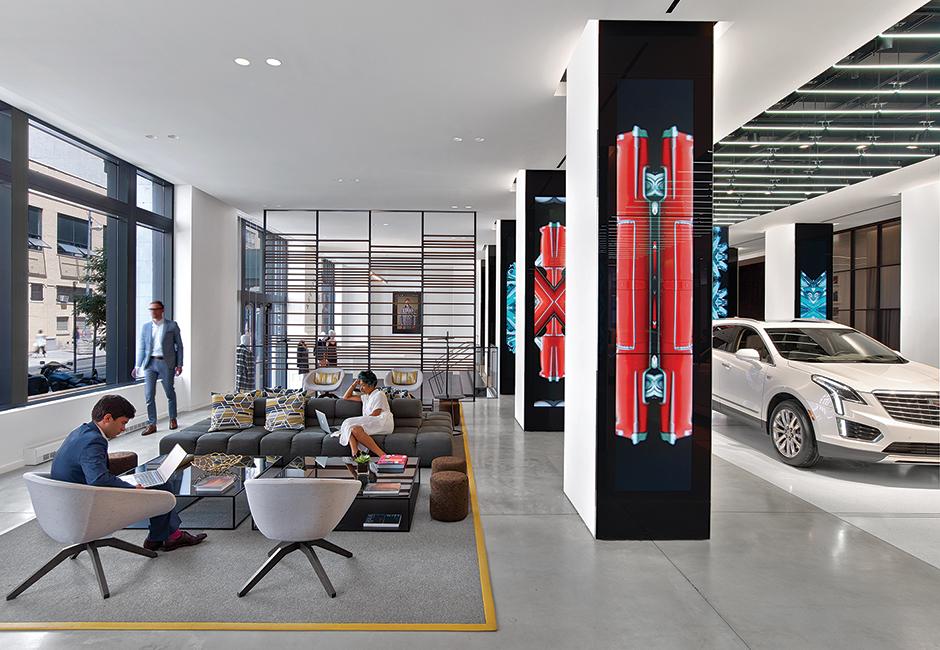 Cadillac House, New York, New York    Auto Showroom