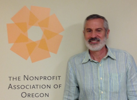 Jim White, Executive Director, The Nonprofit Association of Oregon. Photo by Scott Schaffer.