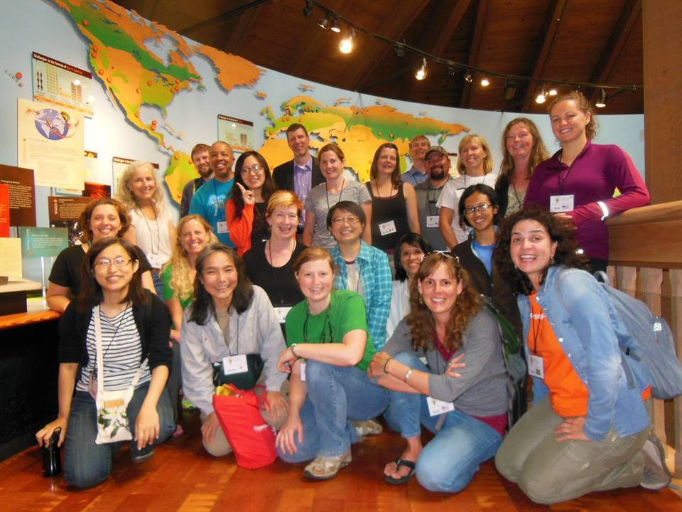 The World Forestry Center participated in PIMG's 2015 organizational assessment pilot. Here, executive director Eric Vines (back row center) takes a photo-op with participants in WFC's International Educators Institute.