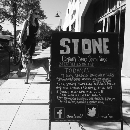 Stone Brewery does a great job on all things experience related (not a client).