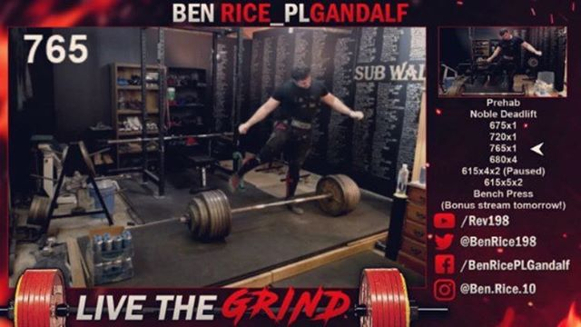 Ben Rice @ben.rice.10 is going to put up an absolutely ridiculous total in the 105kg class and have a ball while doing it. Training is gearing up for a big meet 👊🏼 ・・・ Some training highlights from this last week. A mixed bag from feeling great to totally pooped, but we still came in and got things done, showing myself I'm capable of more than ever before. 765x1 & 680x4 deads last night despite feeling exhausted and sleep deprived going in. 666x1 & 605x5 squats from monday redeeming a poor showing from the week before,  640x1 paused squat, 385x1 bench, & 450 ss bench from thursday just chipping away and giving what I can heading into nationals.  Was really able to challenge myself to focus on gratitude and joy all week especially. I don't HAVE to do this, I GET TO TO DO THIS.  Embrace the process, without it this whole thing is pointless. Live the grind. @noble_vice_performance @a7intl @kingofthelifts @thestrengthathlete @@powerliftingmotivation @sportcoreperformance  #farfromperfect #furtherfromfinished #livethegrind #macprogram #twitch #twitchfitness #fitstreamer #hook #mindfulness #hookgrip #sportcore #boysup #BEYONDPLUSULTRA #swagbois #gratitude #joy #squat #fitfam #pausedsquat #bench #usapl #105kg #ipf #roadtonationals