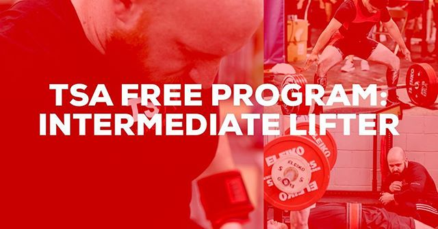 We don't have any deals for Labor Day, but we want to say thank you! If you haven't yet, check out the free intermediate program available on the website. Hundreds of athletes have run the program and added a ton to their total, and we hope you do too ☺️