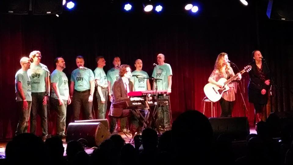 NYCGMC members sing with Dar Williams at the Bell House, December 26th 2013
