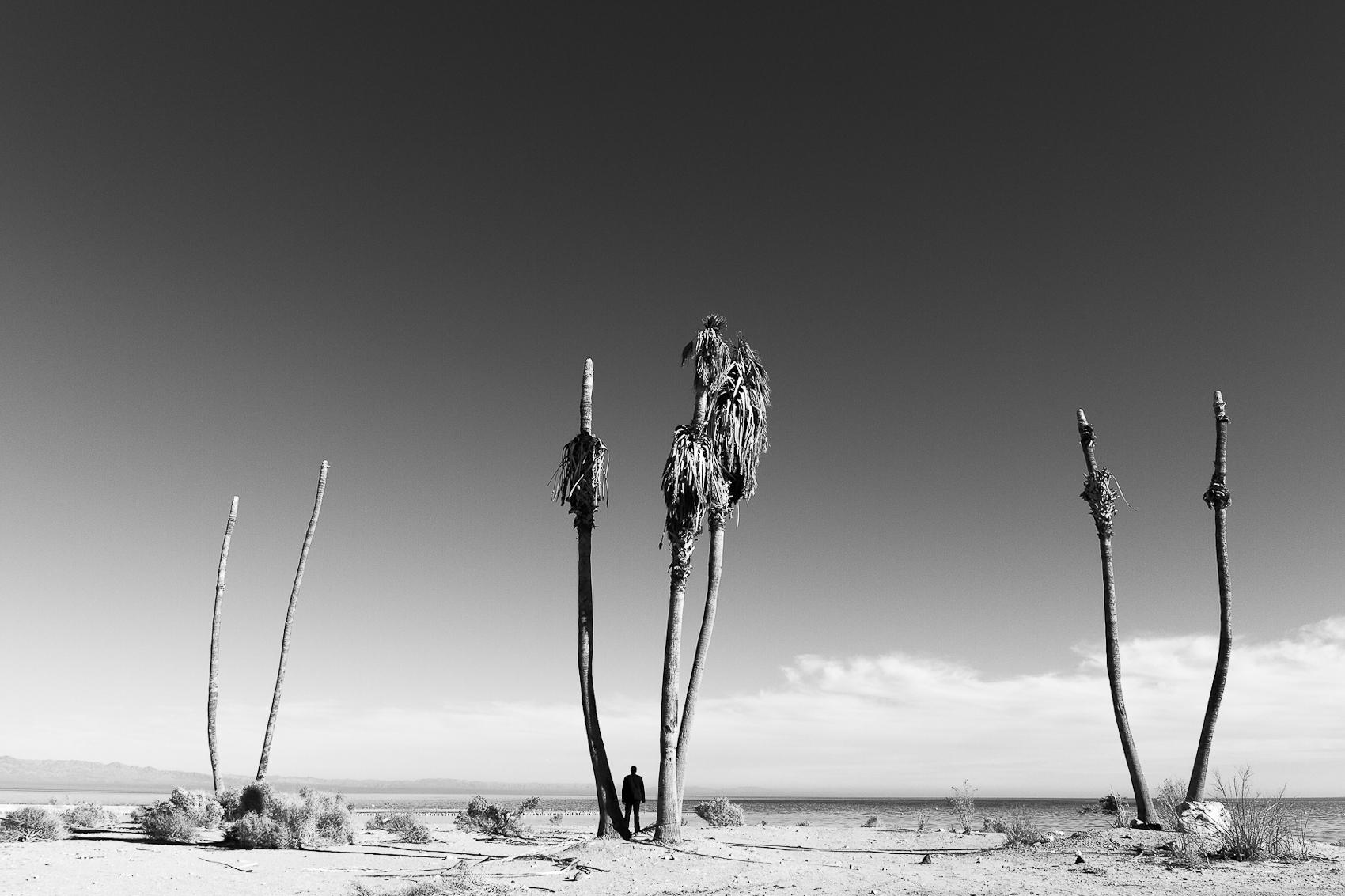 Self Portrait, Paradise Avenue, Salton Sea, 2013