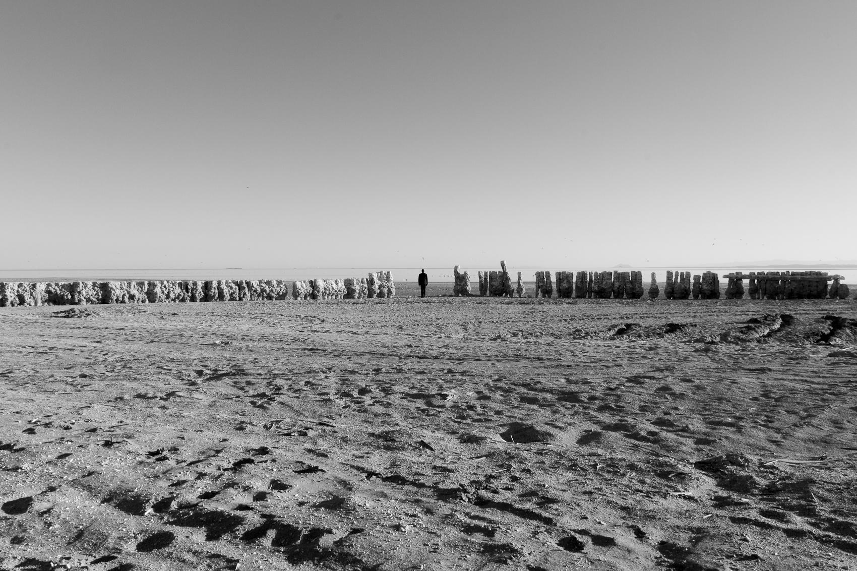 Self Portrait, Bombay Beach, Salton Sea, 2016
