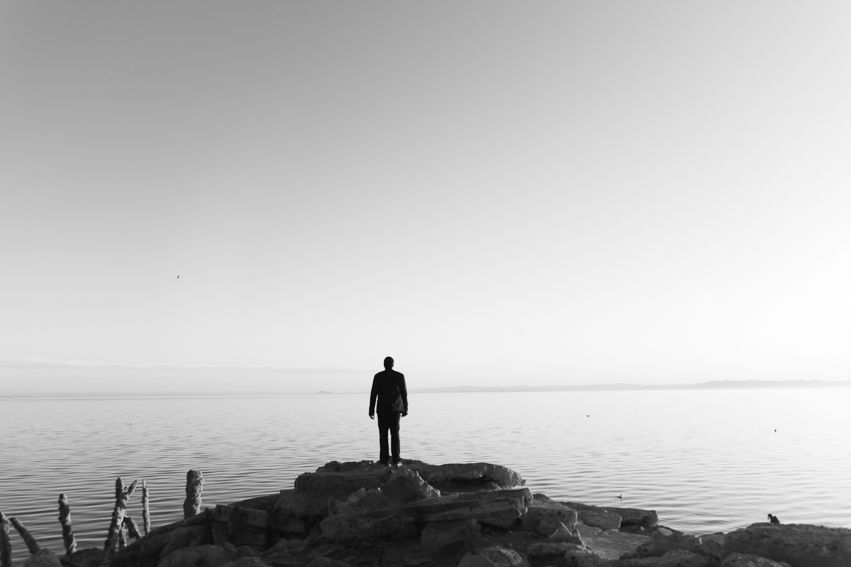 Self Portrait, Bombay Beach, Salton Sea, 2015