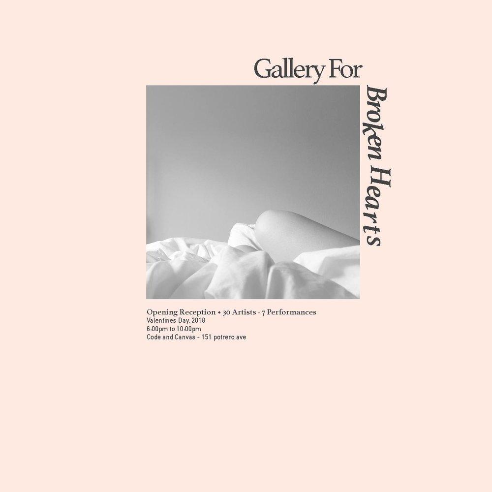 Exhibition : Gallery for Broken Hearts (Feb. 2018)