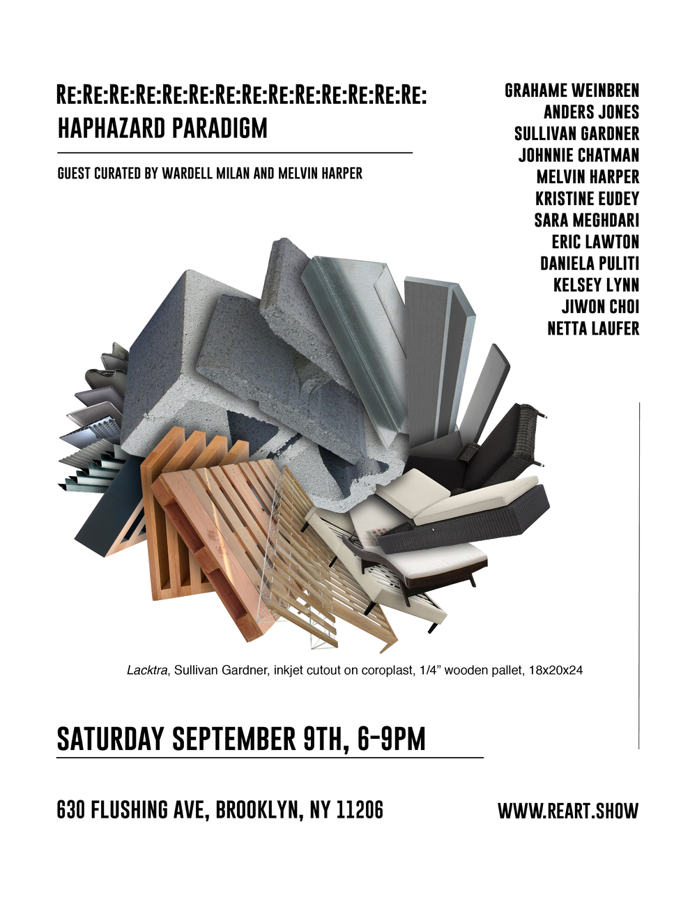 Exhibition: Haphazard Paradigm at Re:Art Show (Sep. 2017)