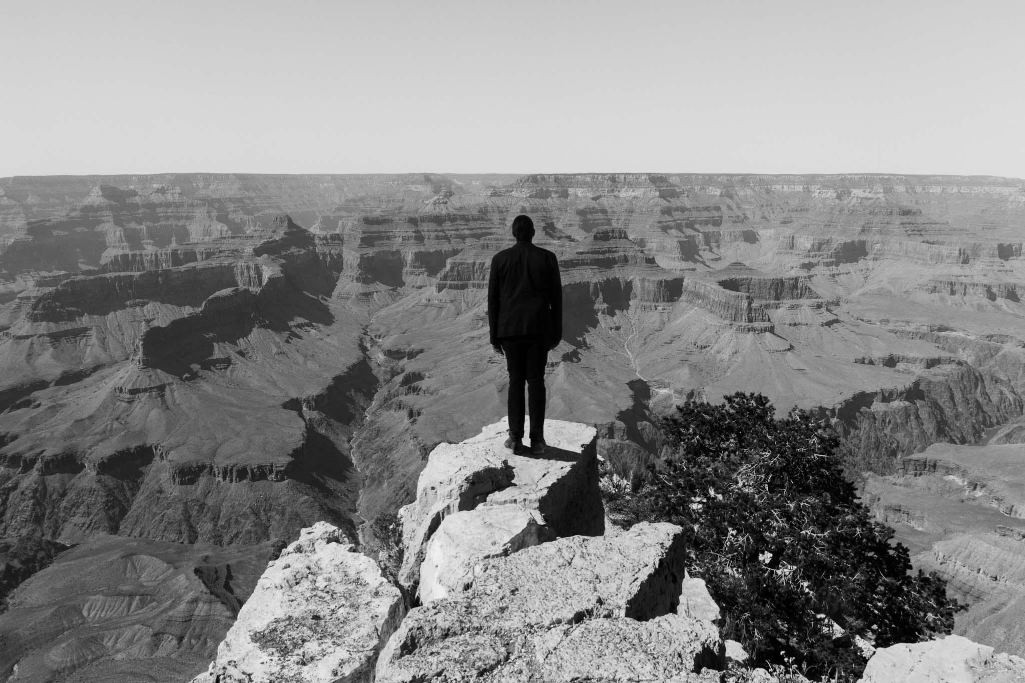 Self Portrait, Grand Canyon, 2016