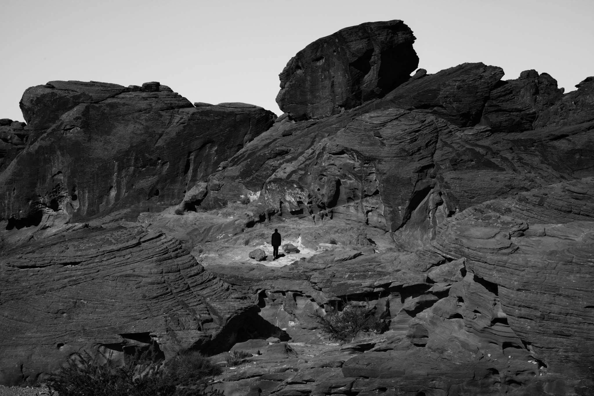 Self Portrait, Valley of Fire, 2019