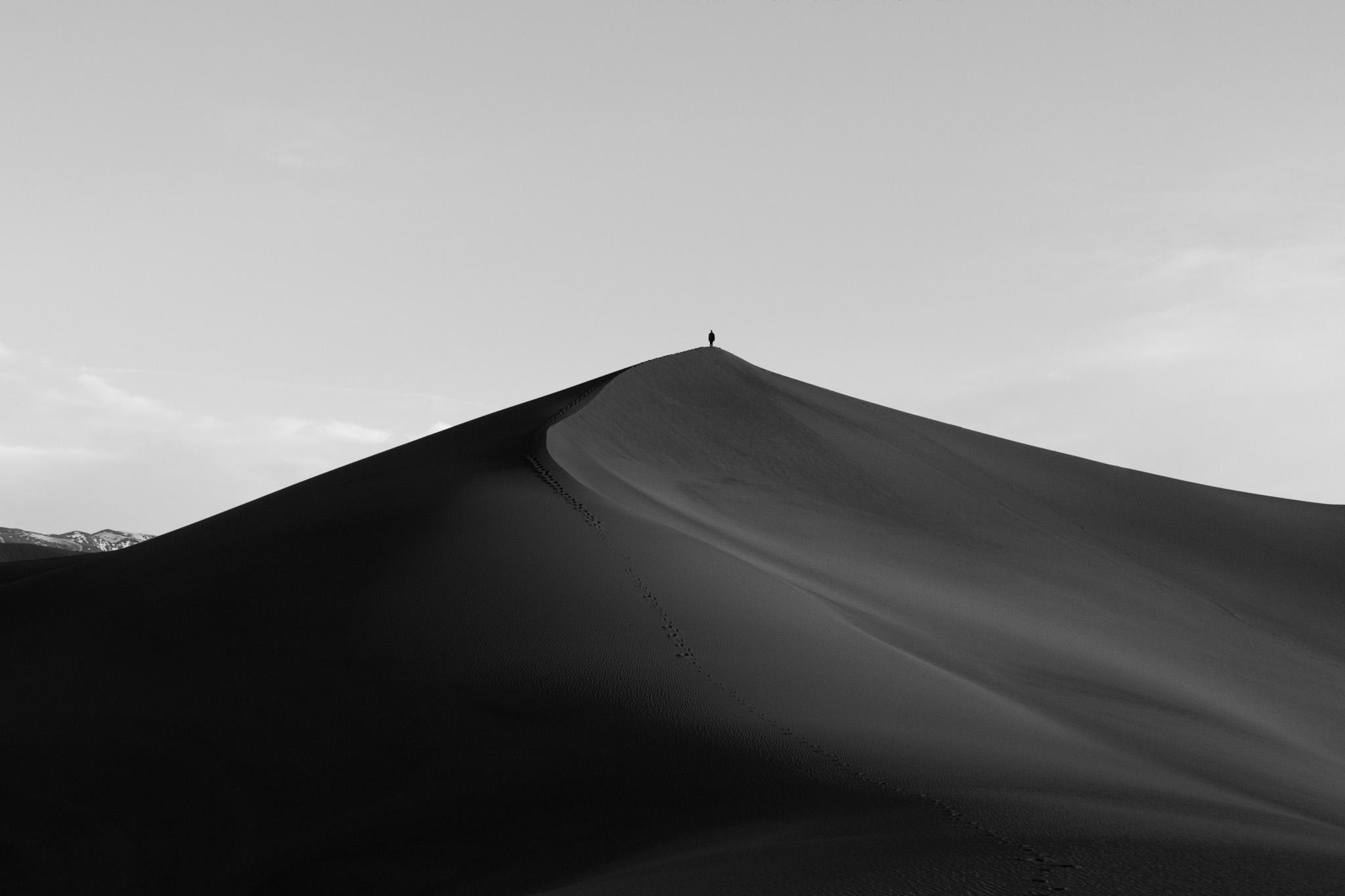 Self Portrait, Great Sand Dunes (South), 2017
