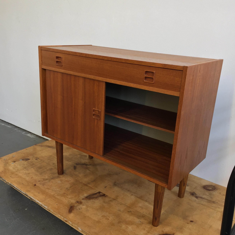 Vintage Danish Modern Teak Console Cabinet Far Out Finds Vintage Scandinavian Furnishings