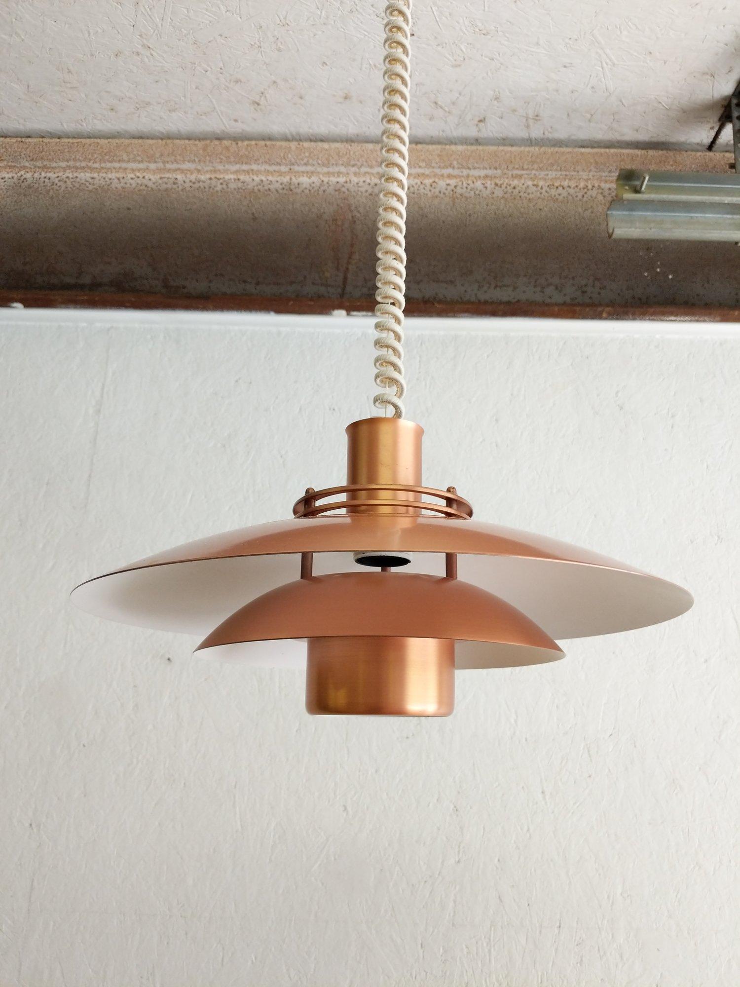 Danish Modern Hanging Pendant Lamp