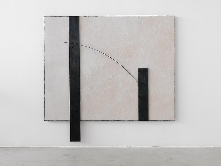 Untitled, 1985 | Salt,  lead, burnt wood