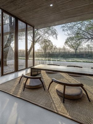 ARCHITECTURE |    WATERSIDE BUDDIST SHRINE by   ARCHSTUDIO...