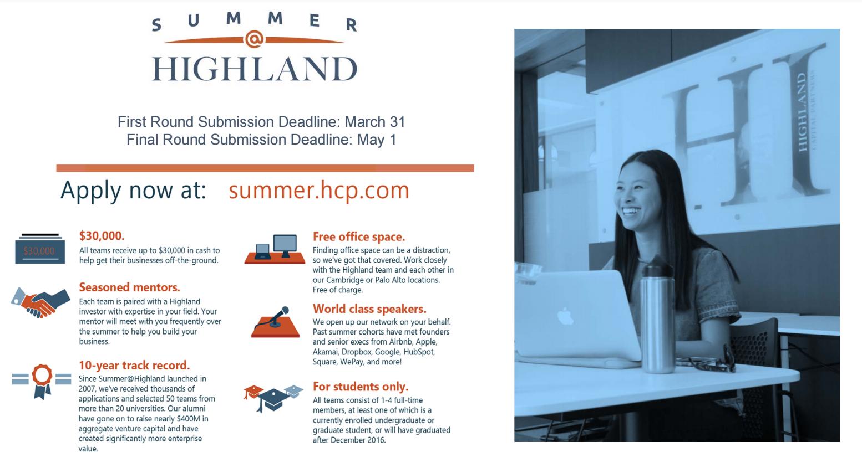 Summer at highland