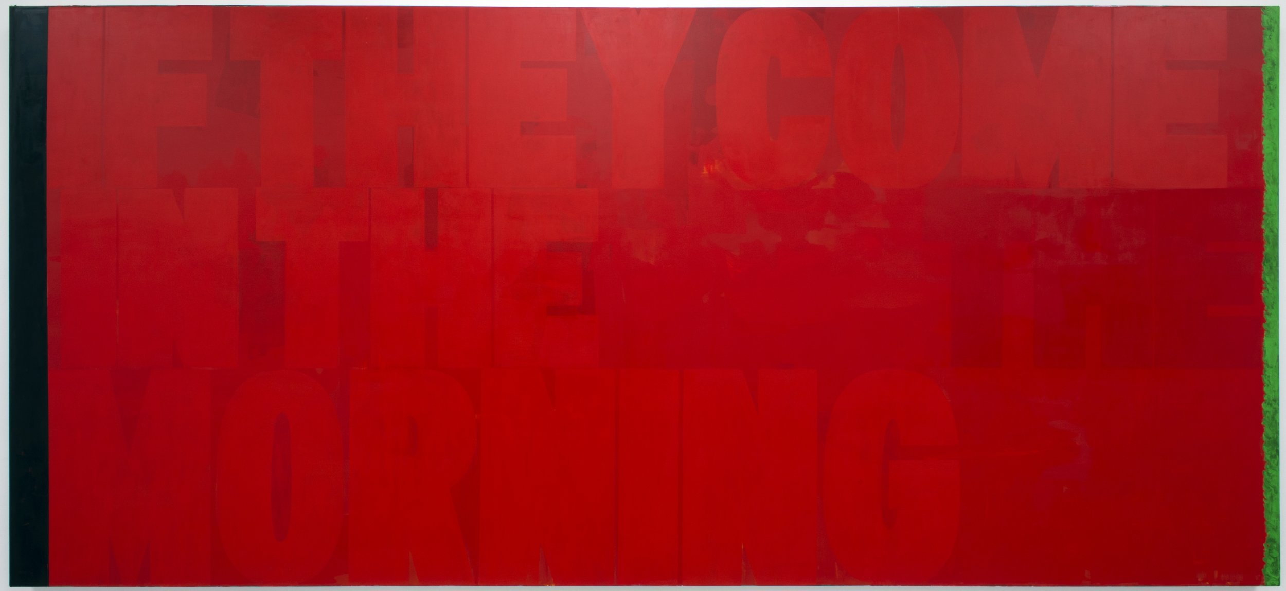 Kerry James Marshall, Red (If They Come In The Morning) , 2011