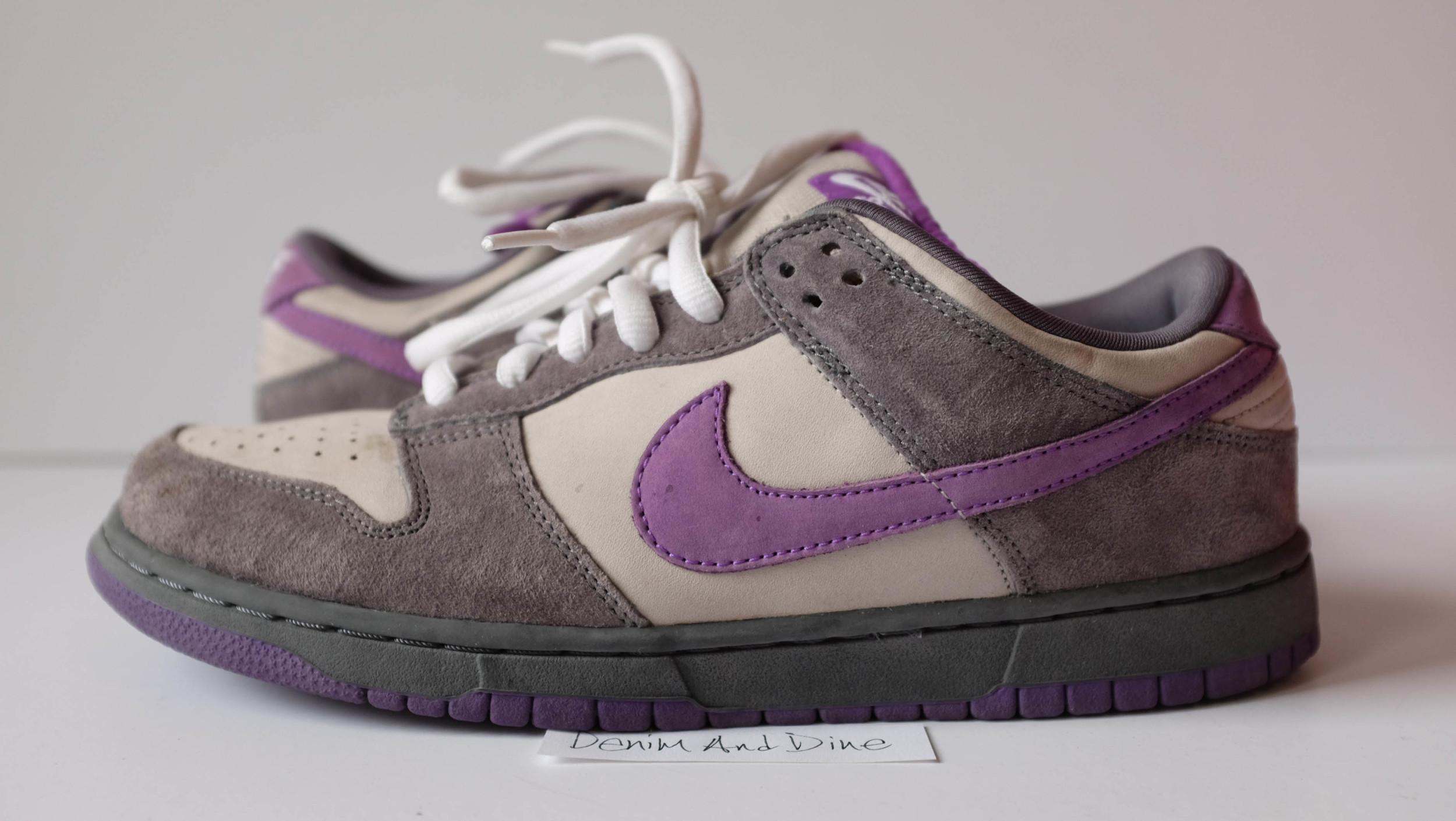 Nike SB Dunk Low Purple Pigeon — Denim