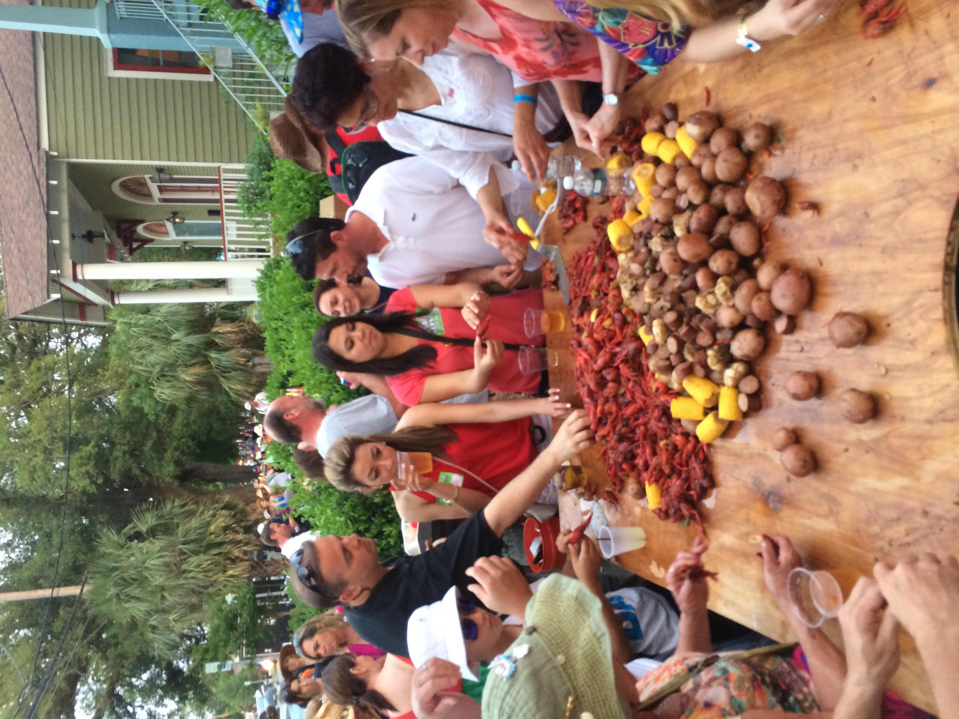 Traditional Good Friday Crawfish Boil