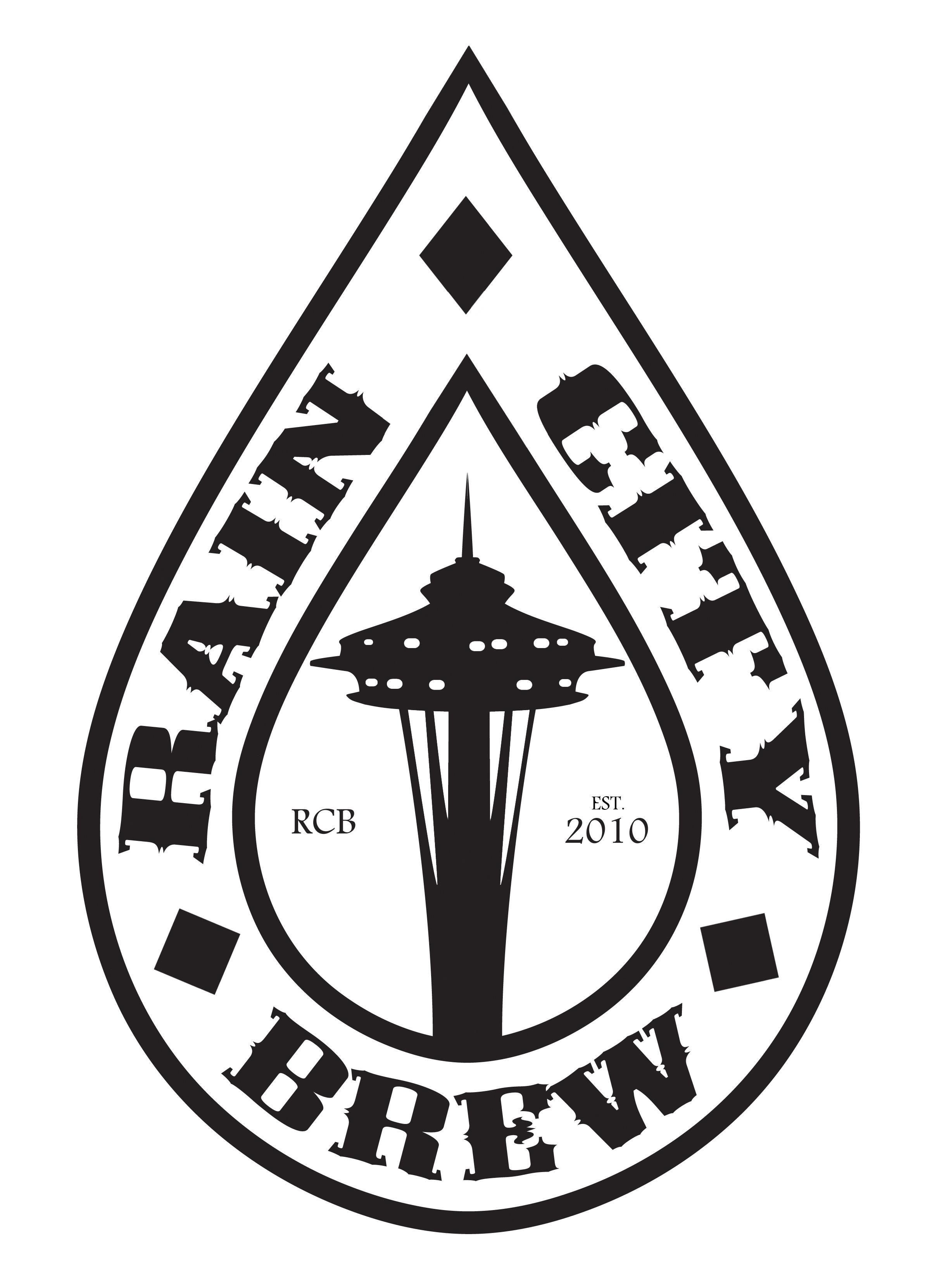 """Rain City Brew""  - logo   http://raincitybrew.com/"