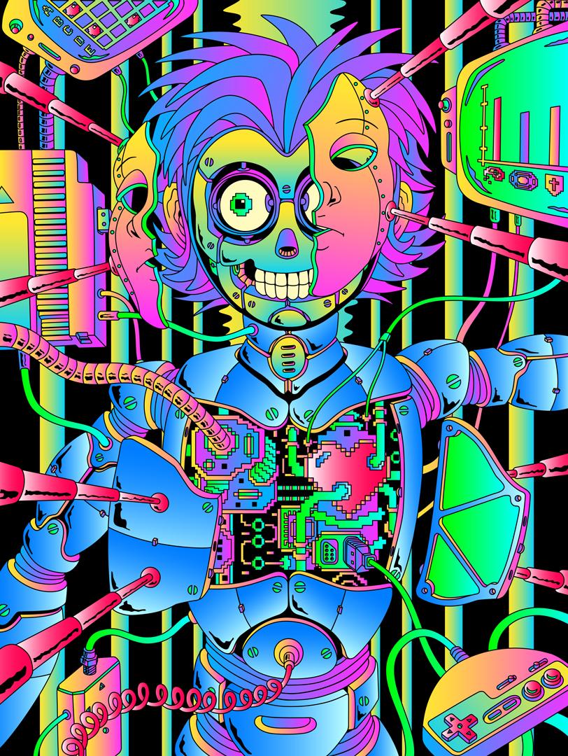 metal_BOY -animated version via  behance.net