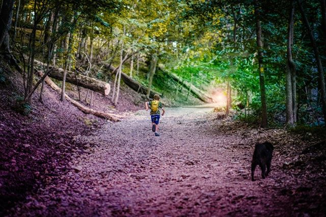 Run towards the dream.  #visuals #aesthetic #photoshop #parenting #throughthelens
